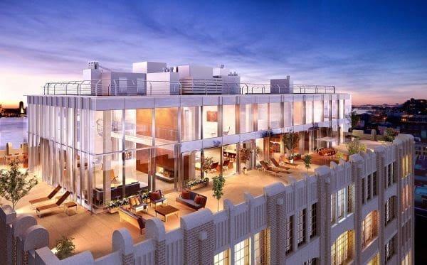 Hình ảnh 1 căn hộ Penthouse tại Long Biên