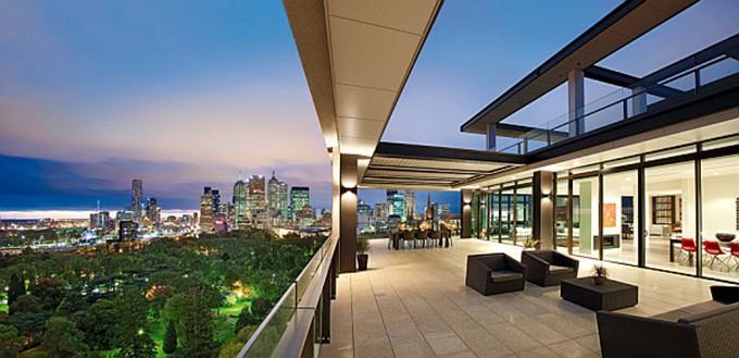 Căn hộ Penthouse sở hữu tầm nhìn tuyệt đẹp bậc nhất