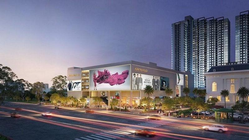 Trung tâm mua sắm trong khuôn viên chung cư